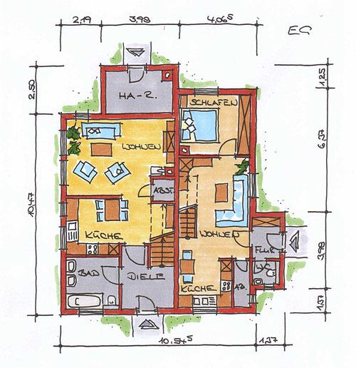 traumhaus bauen ein und mehrfamilienh user in. Black Bedroom Furniture Sets. Home Design Ideas